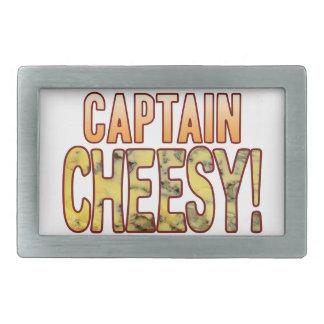 Capitán Blue Cheesy Hebillas De Cinturon Rectangulares