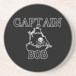 Capitán Bob (barco pirata) Posavasos Cerveza