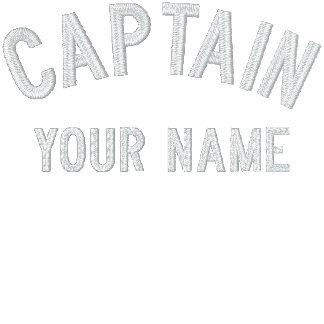 Capitán bordado personalizado Template Sudadera Encapuchada