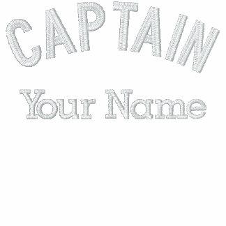 Capitán bordado personalizado Template Polo Bordado