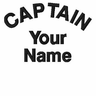 Capitán bordado personalizado Template