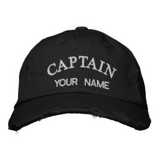 Capitán bordado personalizado Template Gorras Bordadas
