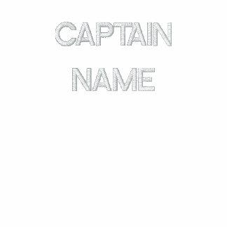 Capitán bordado Shirt Polo Bordado