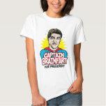 Capitán Brainfart Shirt de Rick Perry Remeras