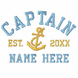 Capitán - con personalizable del ancla polo