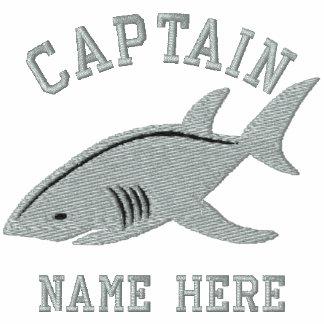 Capitán - con personalizable del tiburón polo