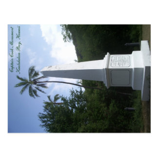 Capitán Cook Monument Postcard Hawaii Postales