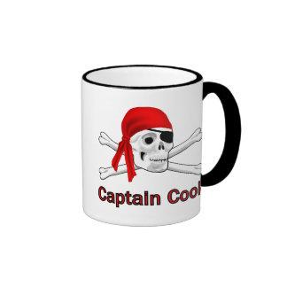 Capitán Cook Mugs del pirata Tazas De Café