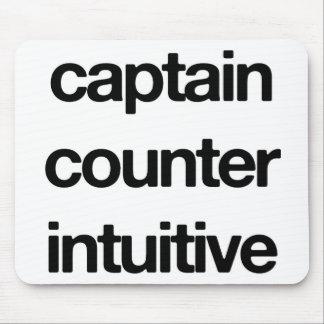 Capitán Counter Intuitive Mousepad