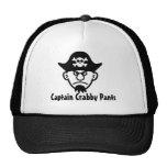 Capitán Crabby Pants del pirata Gorros Bordados