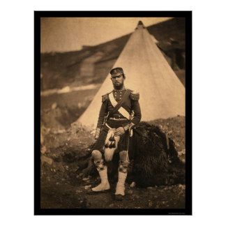 Capitán Cuninghame Highlander 1855 Póster