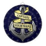 Capitán de buque adaptable su ancla conocida tabla dardos