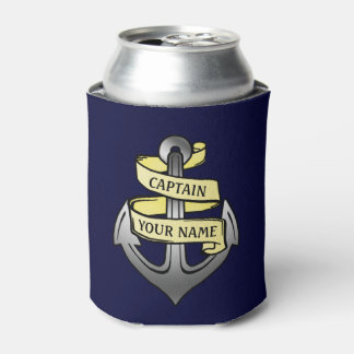 Capitán de buque adaptable su ancla conocida enfriador de latas