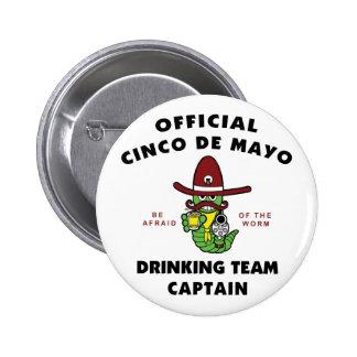 Capitán de consumición del equipo de Cinco de Mayo Pin