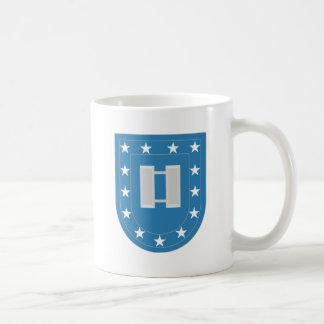 Capitán de destello Insignia del ejército Taza De Café