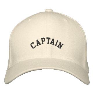 Capitán de DIY, gorra bordado del buque… Gorros Bordados