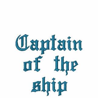 Capitán de la nave camiseta polo