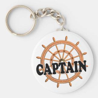 Capitán de las trituradoras llaveros personalizados
