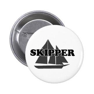 Capitán de las trituradoras pin redondo 5 cm