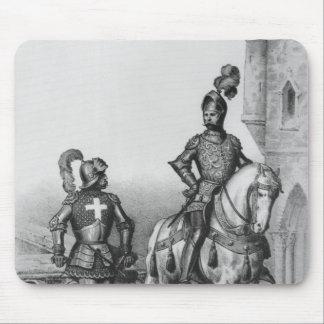Capitán de los archers de París Alfombrillas De Ratones