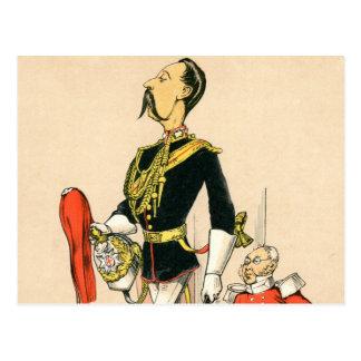 Capitán de los guardias de caballo reales postales