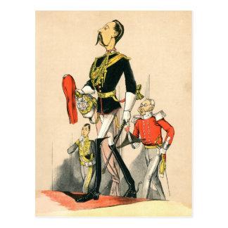 Capitán de los guardias de caballo reales tarjetas postales