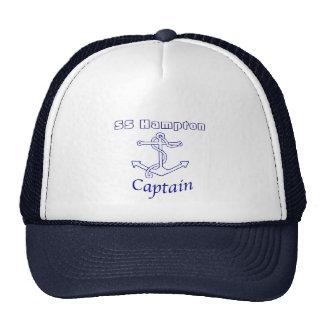 Capitán de naves gorra