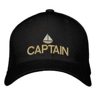 Capitán de naves gorra bordado gorra de beisbol bordada