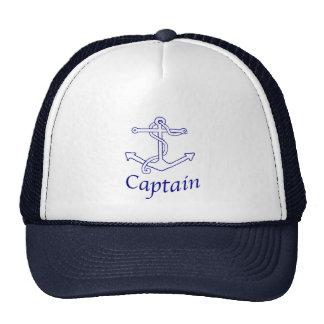 Capitán de naves gorras