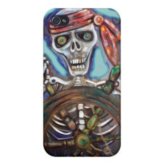 Capitán Death iPhone 4 Carcasa