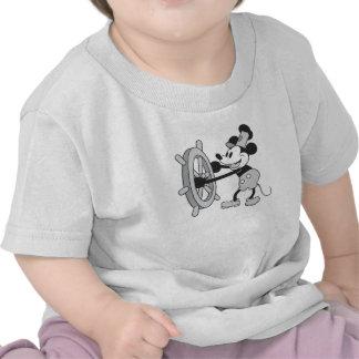 Capitán del barco de vapor de Mickey Mouse Camiseta