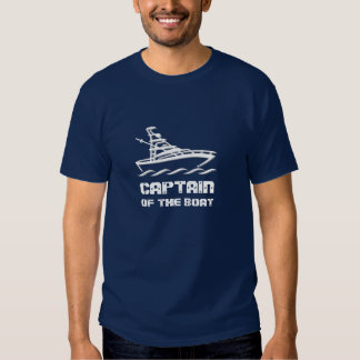 Capitán del barco playera