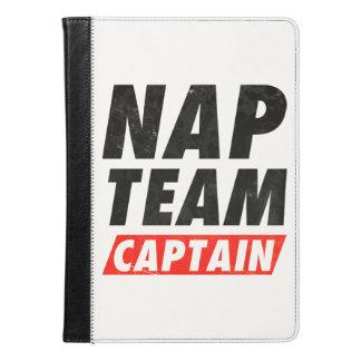 Capitán del equipo de la siesta