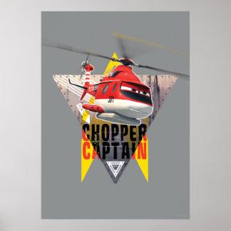 Capitán del interruptor del guardabosques de la póster
