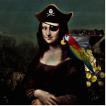 Capitán del pirata de Mona Lisa Esculturas Fotograficas
