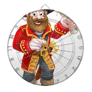 Capitán del pirata del dibujo animado