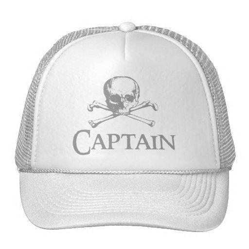 Capitán del pirata gorras