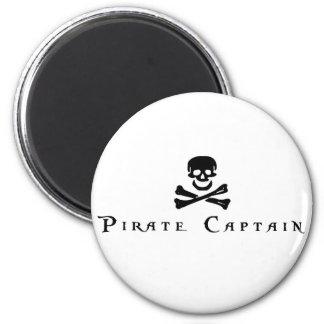 Capitán del pirata imanes