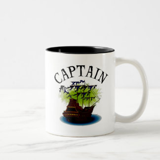 Capitán del pirata tazas