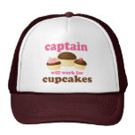 Capitán divertido gorras
