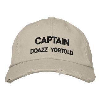 CAPITÁN DOAZZ YORTOLD GORRA BORDADA