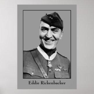 Capitán Eddie Rickenbacker Póster