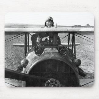 Capitán Eddie Rickenbacker Alfombrilla De Ratones