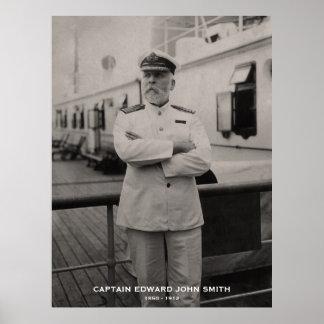 Capitán Edward John Smith del monumento titánico Impresiones