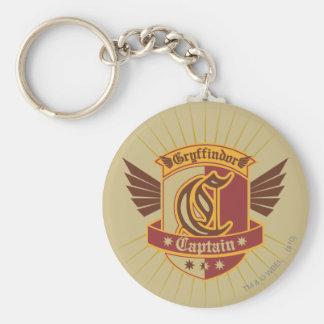 Capitán Emblem de Gryffindor Quidditch Llavero Redondo Tipo Pin