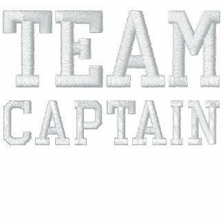 Capitán Embroidered Zip Fleece Jogger del equipo Chaqueta