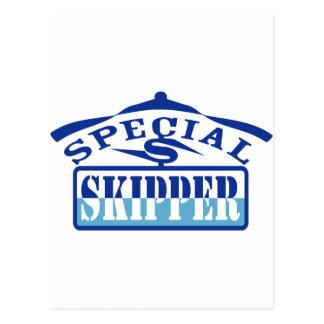 capitán especial tarjeta postal