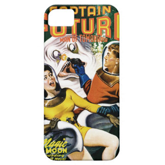 Capitán Future - luna mágica Funda Para iPhone 5 Barely There