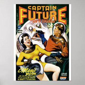 Capitán Future - luna mágica Póster