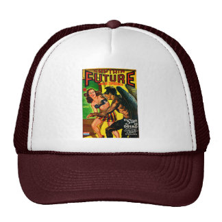 ¡Capitán Future - pavor de la estrella! Gorros Bordados